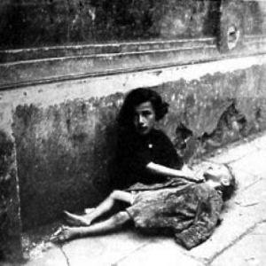 Jewish children dying